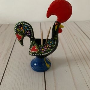 Accents - Portuguese Rooster - metal Rooster